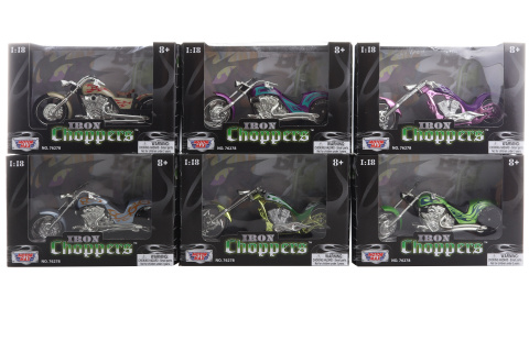 1:18 Iron Choppers