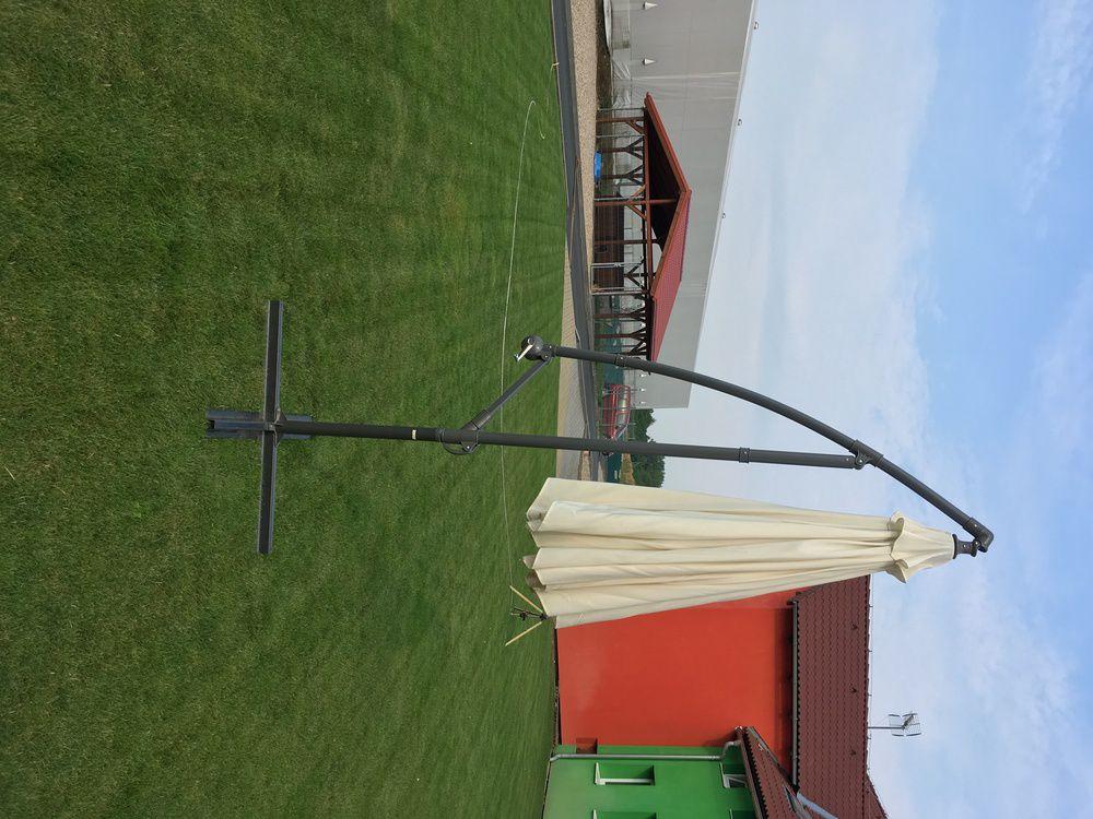 Slunečník béžový 300cm EXCLUSIVE