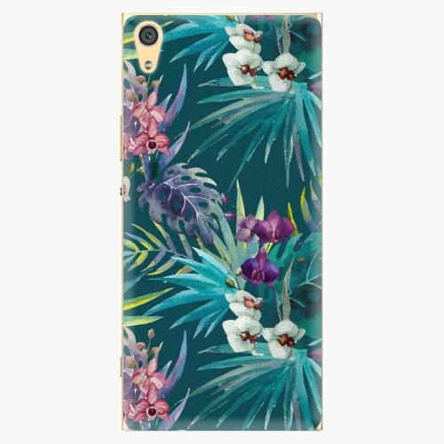 Plastový kryt iSaprio - Tropical Blue 01 - Sony Xperia XA1 Ultra