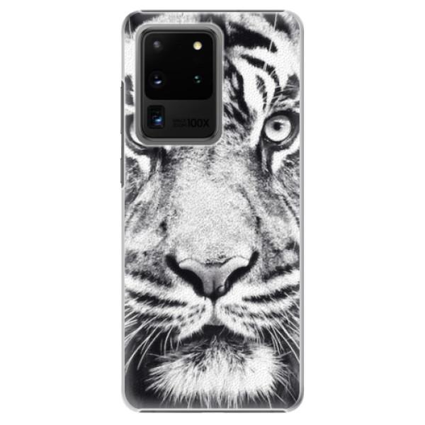 Plastové pouzdro iSaprio - Tiger Face - Samsung Galaxy S20 Ultra