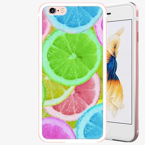 Plastový kryt iSaprio - Lemon 02 - iPhone 6 Plus/6S Plus - Rose Gold