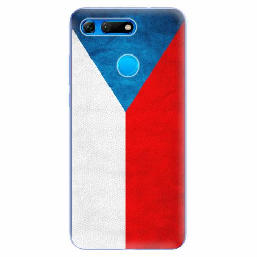Silikonové pouzdro iSaprio - Czech Flag - Huawei Honor View 20