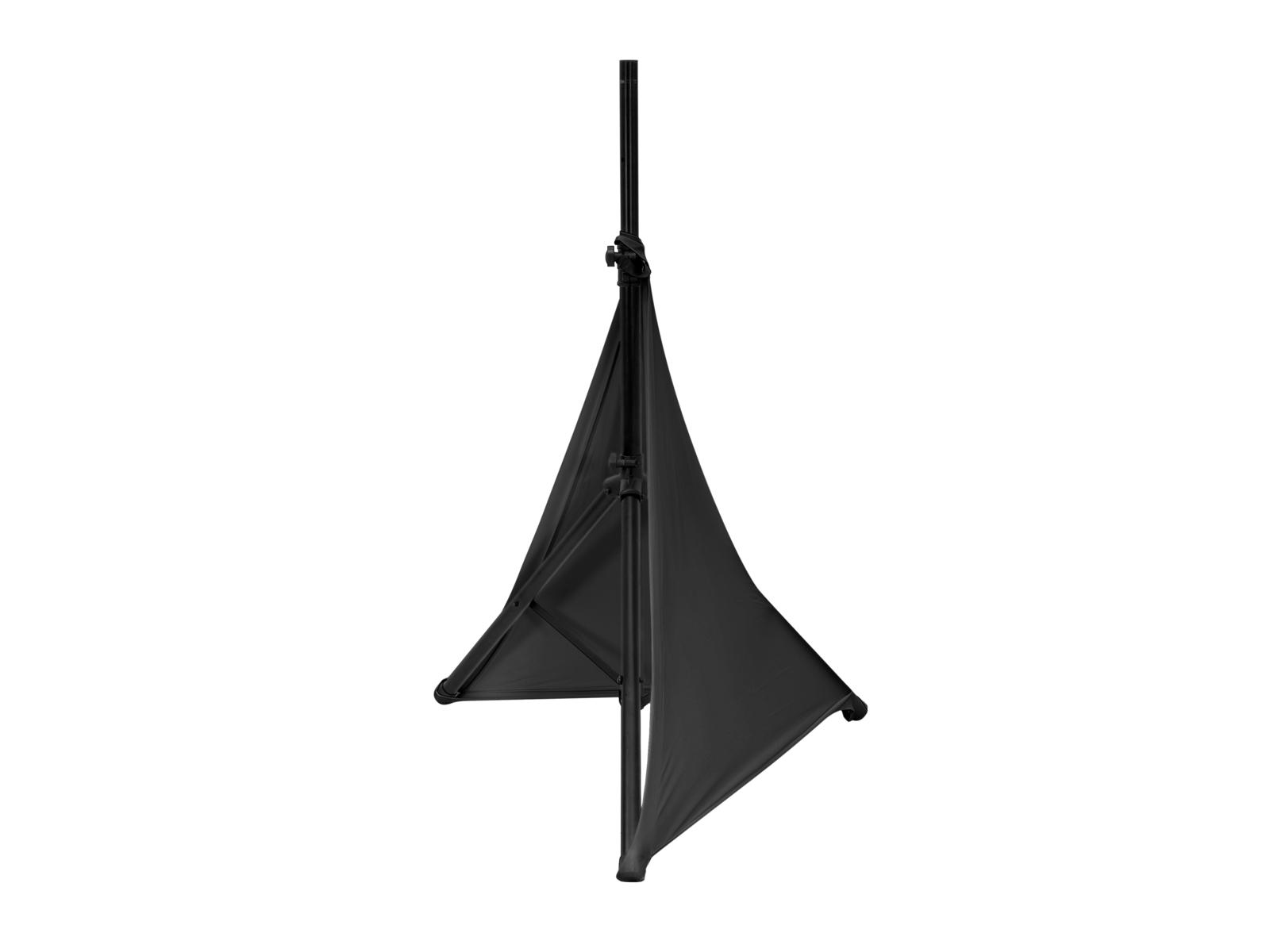Eurolite Tripod Cover 2, elastický návlek na stojan, černý
