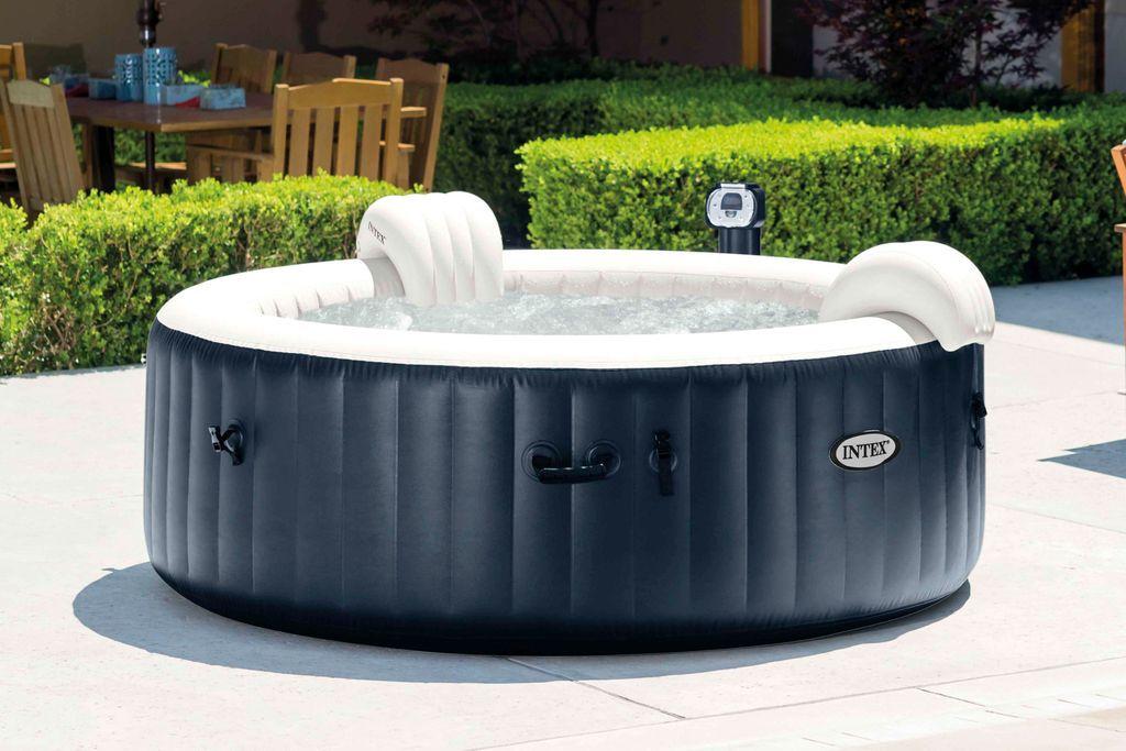 Bazén vířivý nafukovací Pure Spa - Bubble HWS MODRÝ