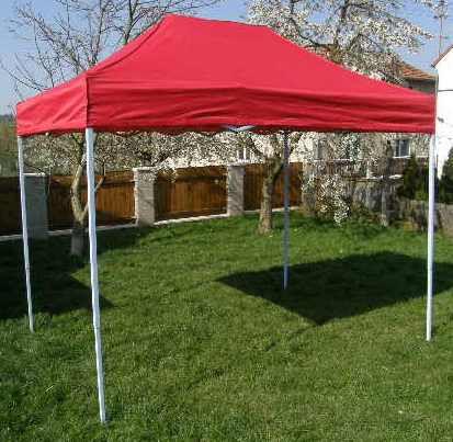 Zahradní  párty přístřešek CLASSIC nůžkový - 3 x 2 m červený