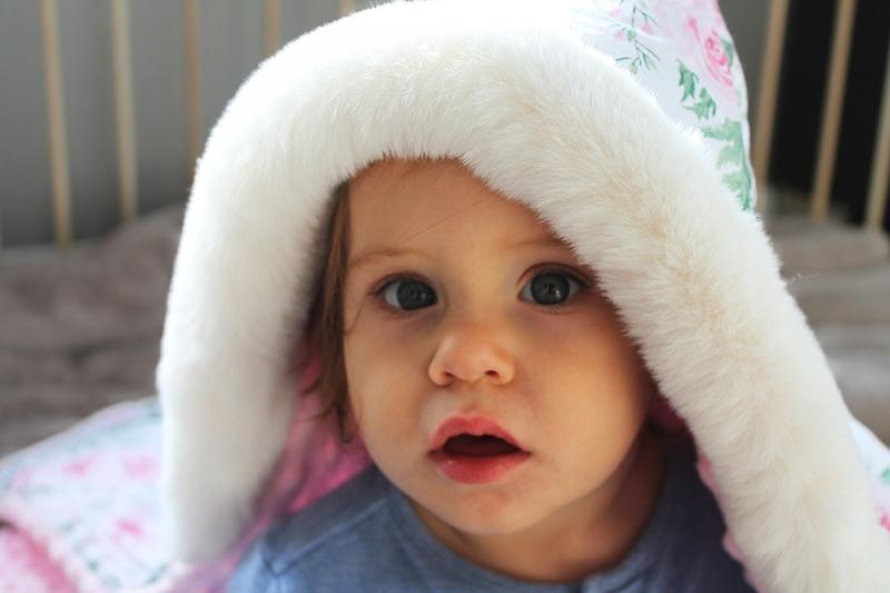 Baby Nellys Bavlněná oboustranná dečka 3v1 s minky a kožešinkou, 90x90 cm, roses