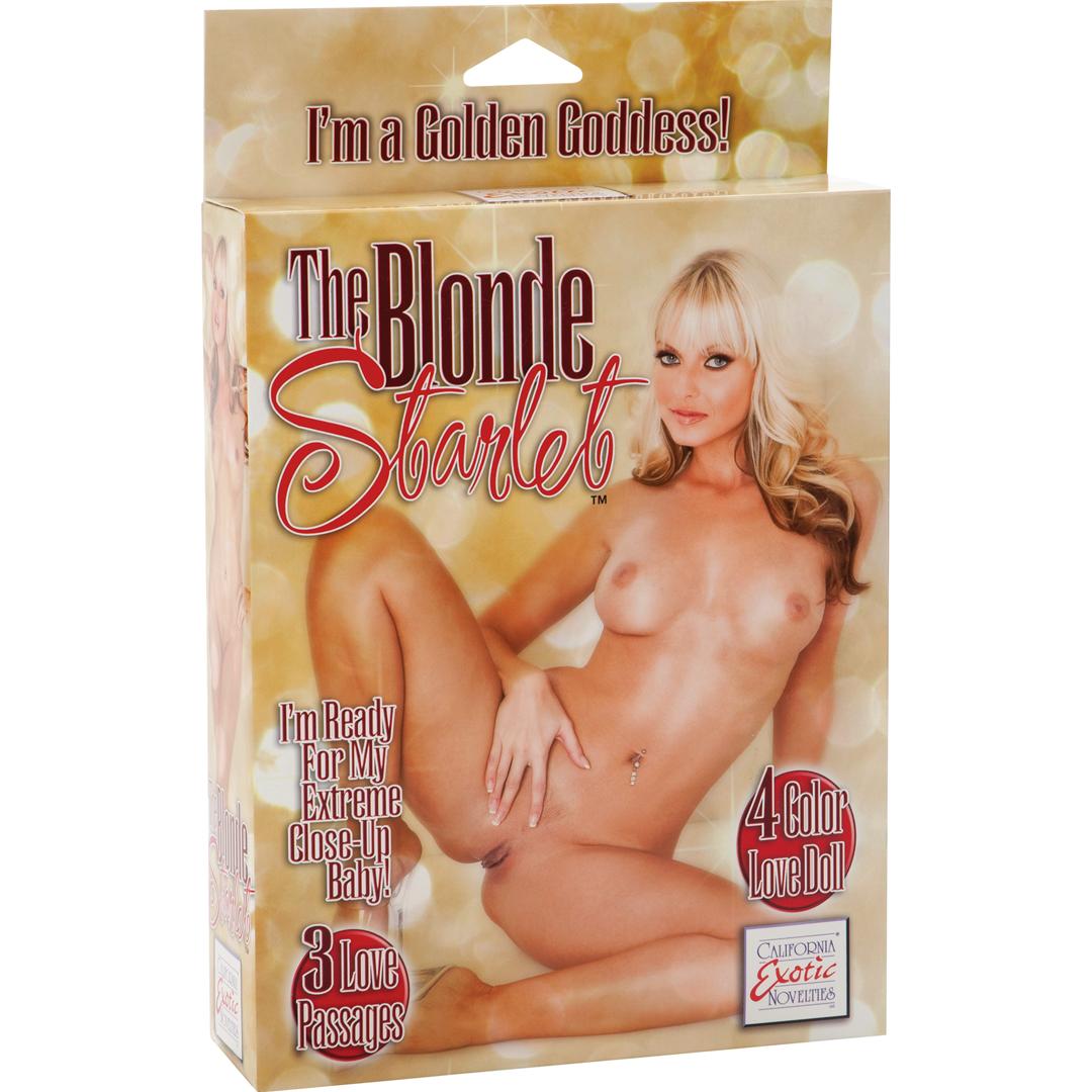 Nafukovací panna Blonde Starlet