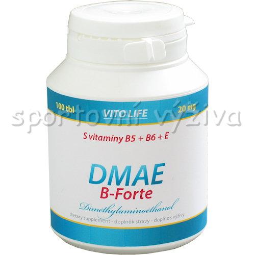 DMAE B-forte 100 kapslí