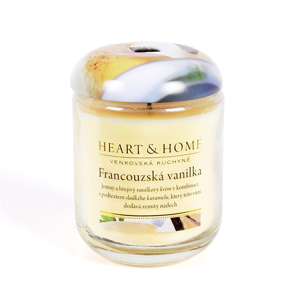 """Velká svíčka - """"Francouzská vanilka"""""""