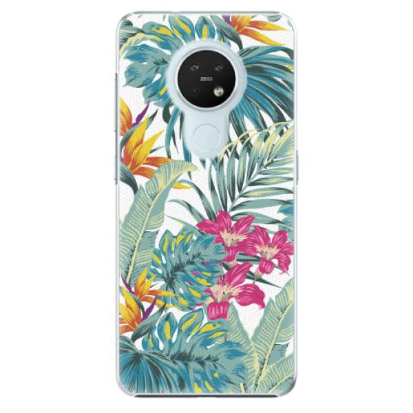 Plastové pouzdro iSaprio - Tropical White 03 - Nokia 7.2