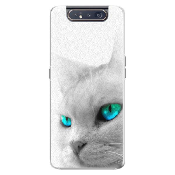 Plastové pouzdro iSaprio - Cats Eyes - Samsung Galaxy A80