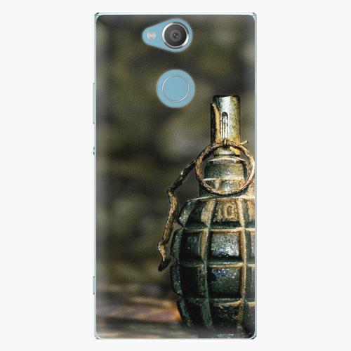 Plastový kryt iSaprio - Grenade - Sony Xperia XA2