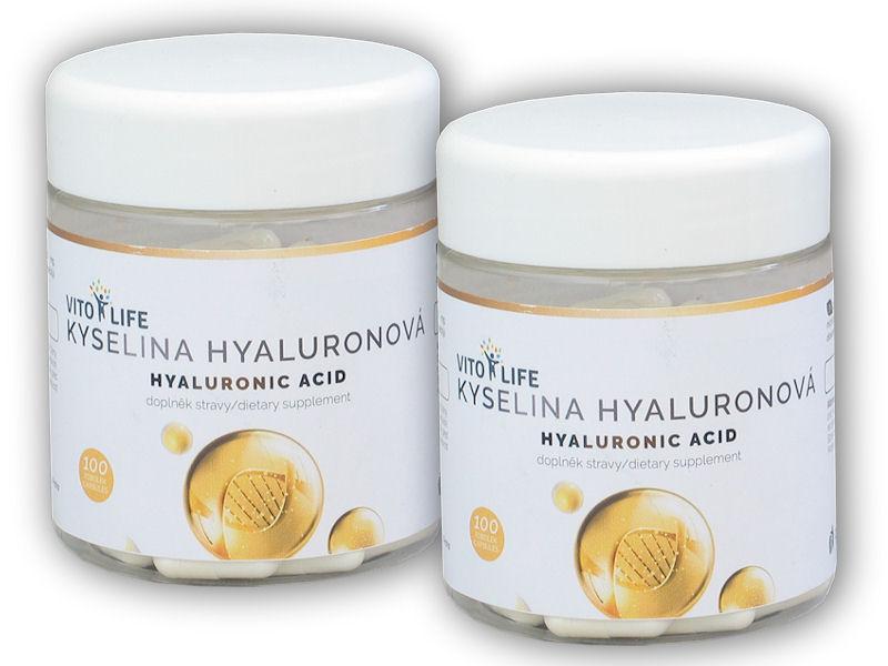 2x Kyselina Hyaluronová 100 kapslí