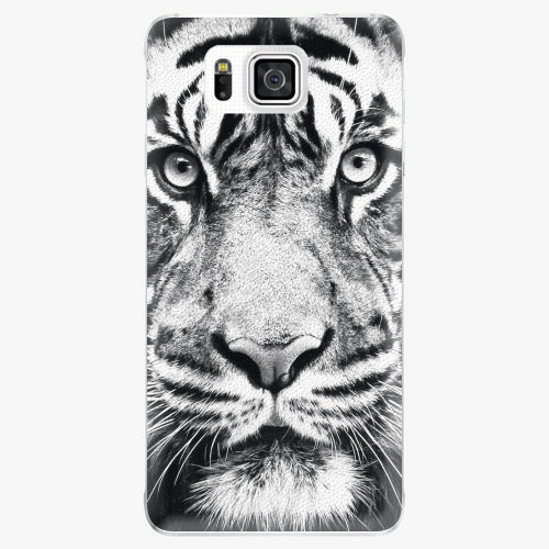 Plastový kryt iSaprio - Tiger Face - Samsung Galaxy Alpha