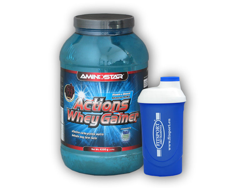 Actions Whey Gainer 4500g + šejkr