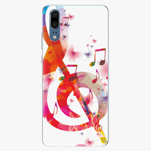 Silikonové pouzdro iSaprio - Love Music - Huawei P20