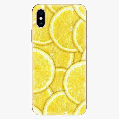 Silikonové pouzdro iSaprio - Yellow - iPhone XS