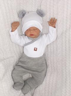 Z&Z 5-dílná kojenecká soupravička pletená