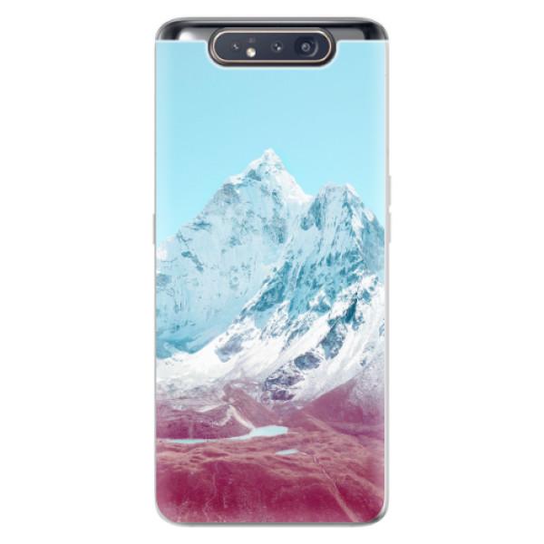Odolné silikonové pouzdro iSaprio - Highest Mountains 01 - Samsung Galaxy A80