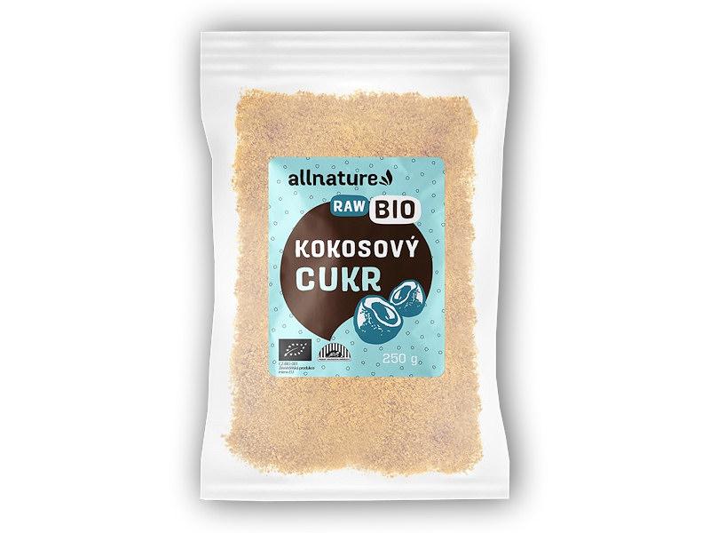 Allnature BIO Kokosový cukr 250g