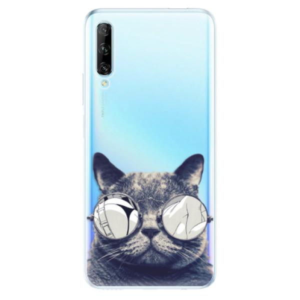 Odolné silikonové pouzdro iSaprio - Crazy Cat 01 - Huawei P Smart Pro