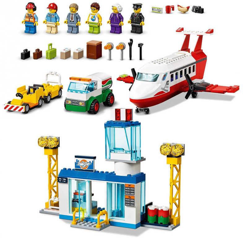 LEGO CITY Hlavní letiště 60261 STAVEBNICE