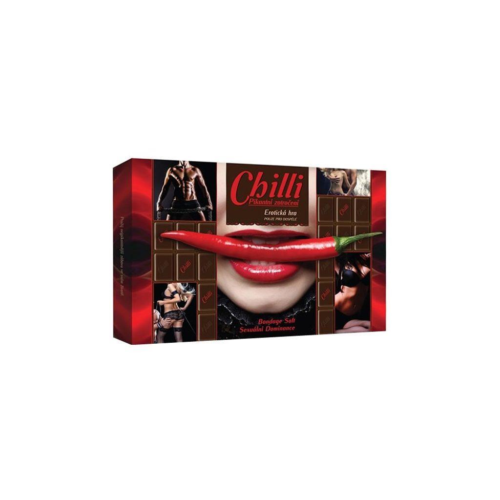 Erotická hra Chilli Pikantní zotročení