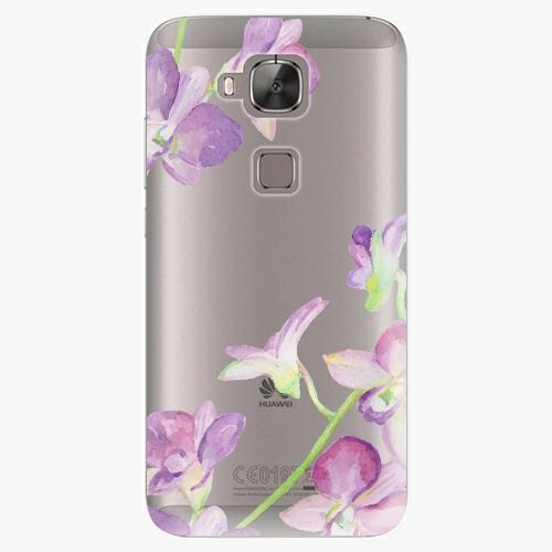 Plastový kryt iSaprio - Purple Orchid - Huawei Ascend G8