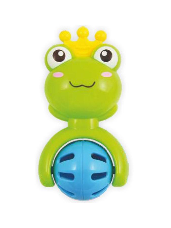 Dětské chrastítko Baby Mix žabička - zelená