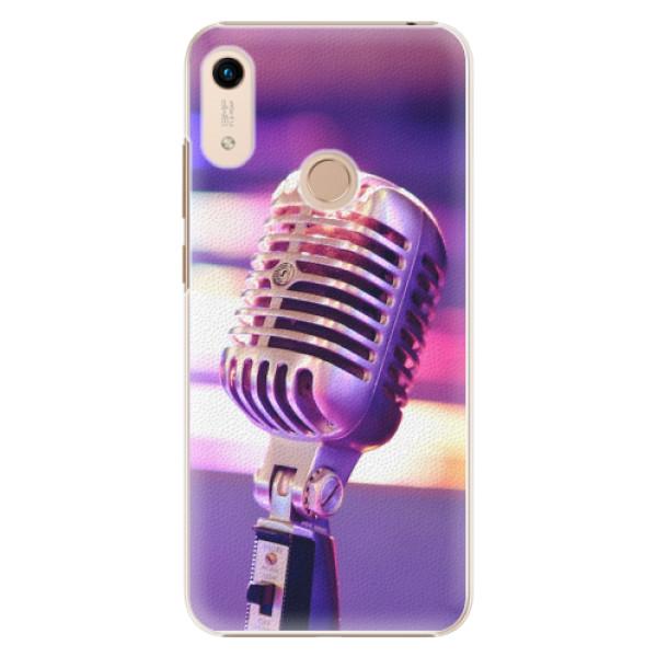 Plastové pouzdro iSaprio - Vintage Microphone - Huawei Honor 8A