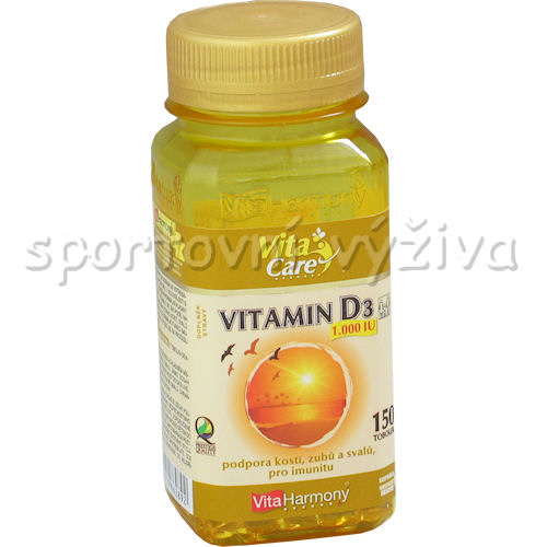 Vitamín D3 1000 mg 150 tobolek