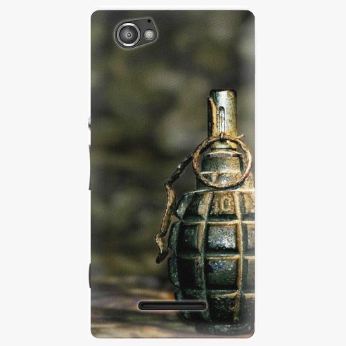 Plastový kryt iSaprio - Grenade - Sony Xperia M