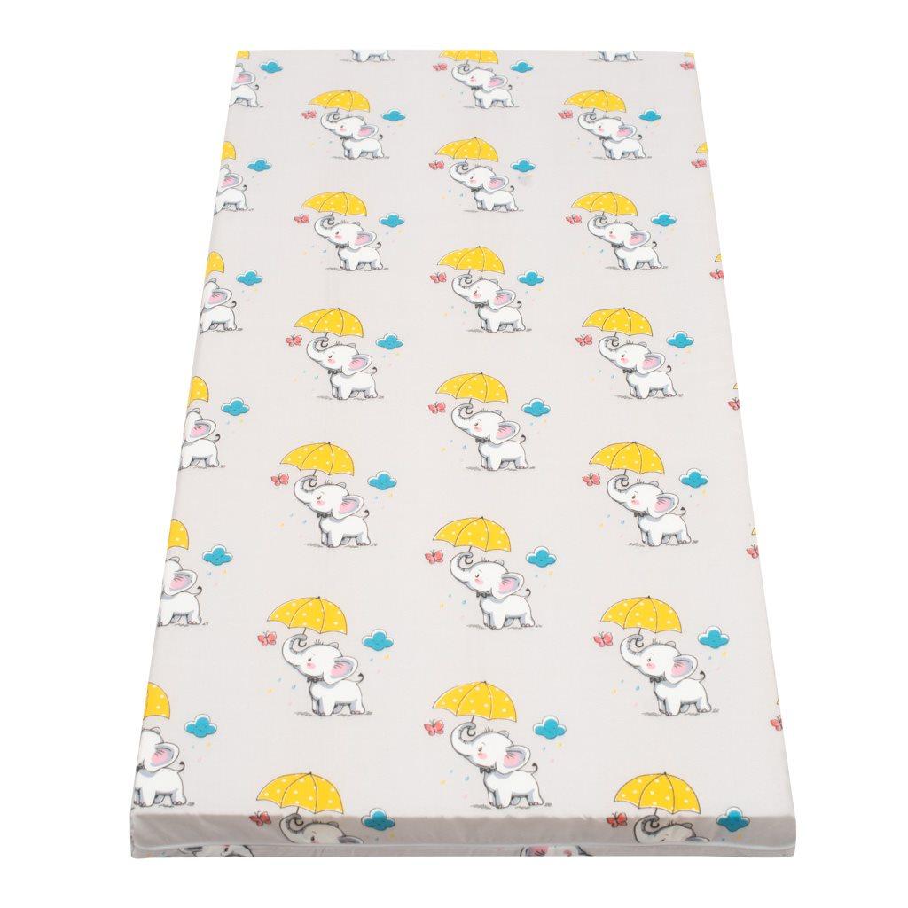 Dětská matrace New Baby 120x60 molitan-kokos obrázky - šedá