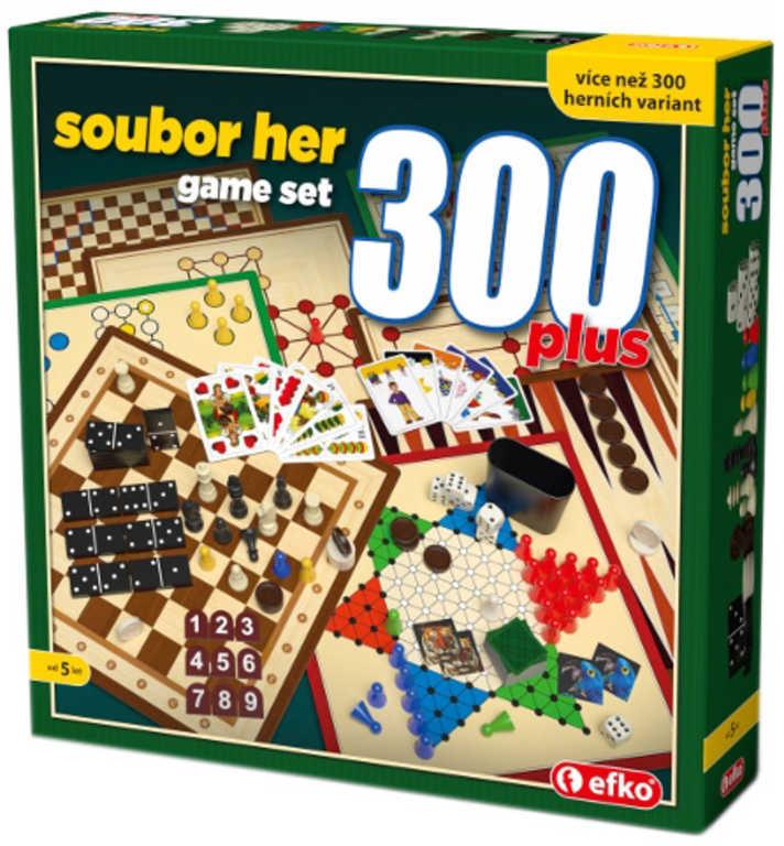 EFKO Velký soubor her 300 plus *SPOLEČENSKÉ HRY*
