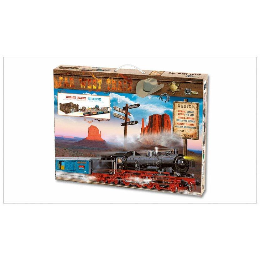 Pequetren FAR WEST TRAIN – westernový vlak