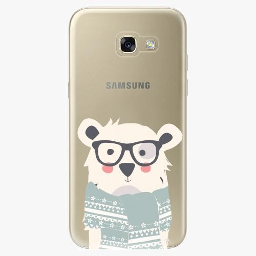 Plastový kryt iSaprio - Bear With Scarf - Samsung Galaxy A5 2017