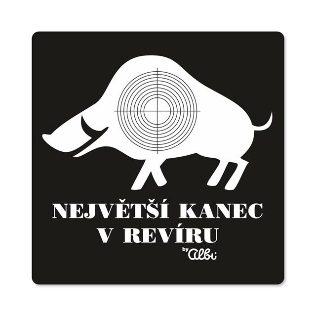Humorná trička - Pánské humorné tričko - Kanec, vel. XL