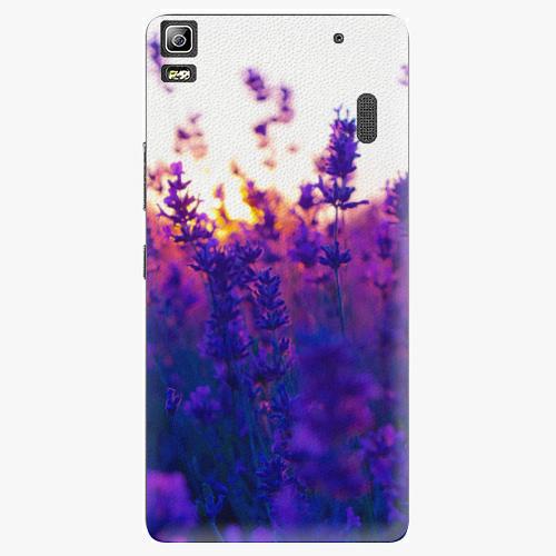 Plastový kryt iSaprio - Lavender Field - Lenovo A7000