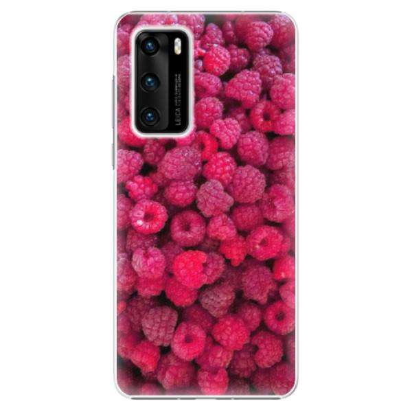 Plastové pouzdro iSaprio - Raspberry - Huawei P40