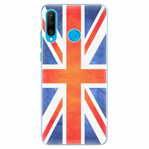 Plastový kryt iSaprio - UK Flag - Huawei P30 Lite