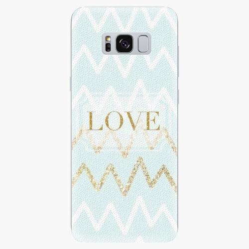 Plastový kryt iSaprio - Gold Love - Samsung Galaxy S8
