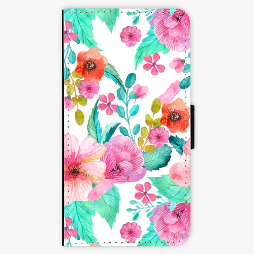 Flipové pouzdro iSaprio - Flower Pattern 01 - Huawei Nova