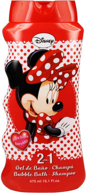 Šampón a pěna do koupele 2v1 Minnie Mouse 475ml dětská kosmetika