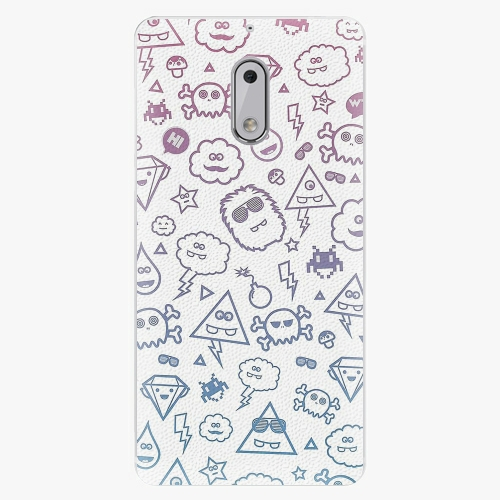 Plastový kryt iSaprio - Funny Clouds - Nokia 6