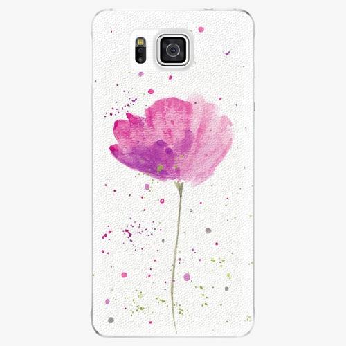Plastový kryt iSaprio - Poppies - Samsung Galaxy Alpha