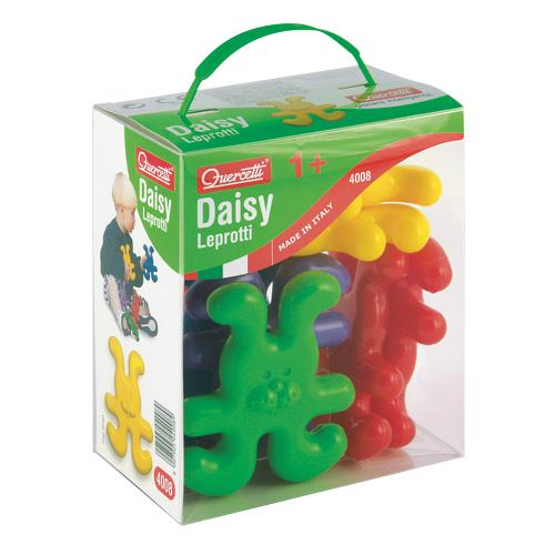 Quercetti Daisy Leprotti baby 8 ks 4008