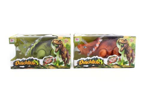 Dinosaurus chodící se zvuky