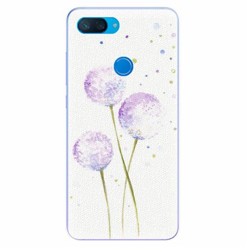 Silikonové pouzdro iSaprio - Dandelion - Xiaomi Mi 8 Lite