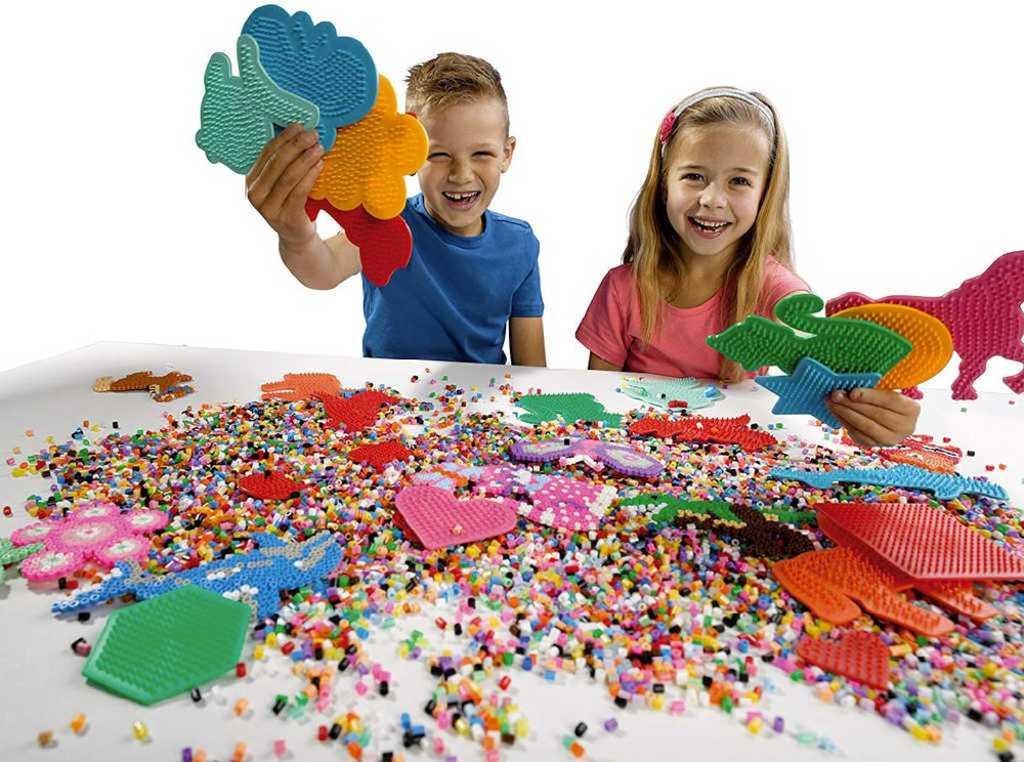 SES CREATIVE Mini podložky na zažehlovací korálky set 4 ks v sáčku plast