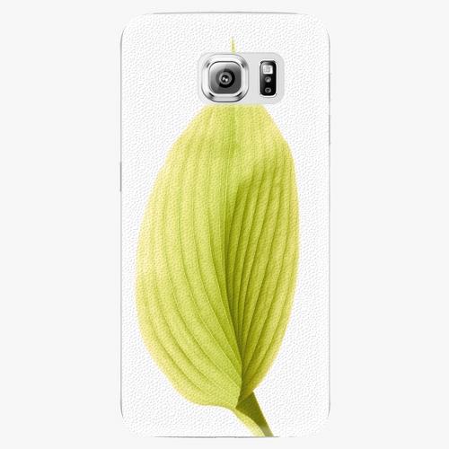 Plastový kryt iSaprio - Green Leaf - Samsung Galaxy S6 Edge